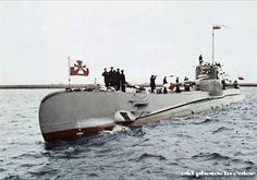 1939 September World War II: The Estonian military boards the Polish submarine ORP Orzeł in Tallinn, sparking a diplomatic incident that the Soviet Union will later use to justify the annexation of Estonia. Invasion Of Poland, Germany Ww2, Army & Navy, Navy Ships, Submarines, Battleship, Military History, Armed Forces, World War Ii