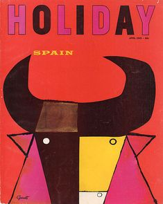 Holiday, April 1965. Designed by George Giusti.