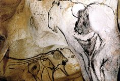 The Venus & The Sorcerer: The Cave Art Paintings of the Chauvet Cave. 30,000+ yrs ago. #caves #art #prehistoric