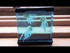 Mini Jellyfish Aquarium Resin & Polymer Clay Tutorial