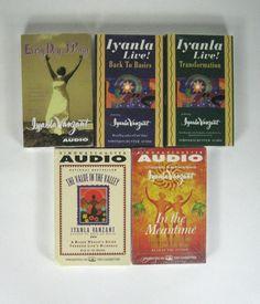 Lot of 5 Lyanla Vanzant Cassette Audio Books Transformation Basics Valley Pray
