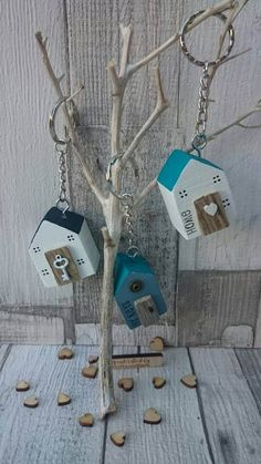 Check out this item in my Etsy shop https://www.etsy.com/uk/listing/513896431/wooden-house-keyring-driftwood-cottage