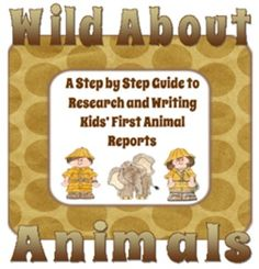 This product includes EVERYTHING that you would need to guide your students to complete an animal research report from beginning to end. A true research report is a multi-paragraph essay with introductory, detail, and concluding paragraphs.  This isn't an easy task for little ones, but this product makes it happen in 12 Easy Steps.