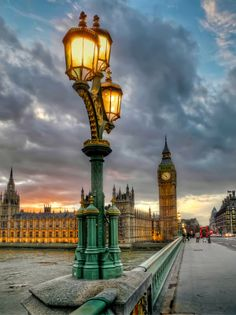 Westminster Palace From Bridge, London England