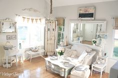 Beautiful shabby chic living home | Shabby Chic Living You Will Love