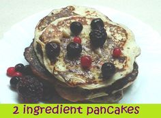 2 Ingredient Pancakes | Hiit Blog