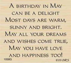 May Birthday Greeting-$