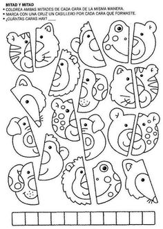 Album Archive - 4 5 6 Mania Numeros del 1 al 30 Preschool Worksheets, Kindergarten Activities, Educational Activities, Preschool Activities, Teaching Kids, Kids Learning, English Lessons For Kids, Scissor Skills, Fabric Stamping