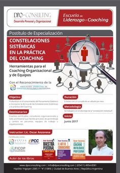 Últimas vacantes!!! Inicia Sábado17 de Junio de 2017 Más información: http://dpoconsulting.com/pensamiento-sistemico-y-constelaciones-en-la-practica-del-coaching/