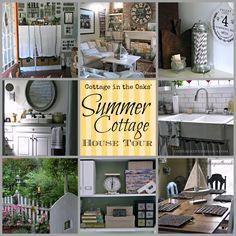 Summer Cottage House Tour #hometour