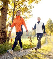 Nordic Walking - just makes sense to do it