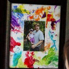 summer crafts for kids - Vacation Bible school, Day Care etc - Fathers Day crafts - DIY handprint picture from Fathers Day Frames, Fathers Day Pictures, Fathers Day Art, Easy Fathers Day Craft, Fathers Day Presents, Mothers Day Crafts, Fathers Gifts, Diy Father's Day Gifts Easy, Homemade Fathers Day Gifts