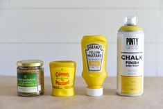 What colour is mustard? - Pintyplus spray chalk paint. Looking at one of our most popular colours Spray Chalk, Chalk Paint, Shades Of Yellow, The Conjuring, Dark Wood, Mustard, Colours, Popular, Painting