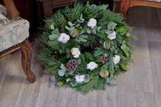 Christmas Wreaths, Floral Wreath, Holiday Decor, Plants, Home Decor, Floral Crown, Decoration Home, Room Decor, Plant