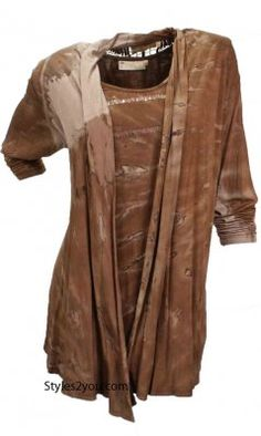 ICC Nola Blouse And Jacket Set In Brown [Hippy Boho Cardigan] #earthy #brown #neutral #fall #fashion #affordable #jacket