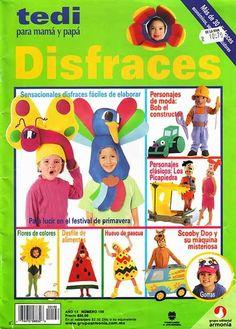Revistas de manualidades Gratis: Como hacer disfraces para niños