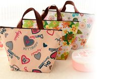 Stylish Lunch Cooler Bag – 4 Designs!