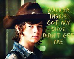 Carl Grimes - Chandler Riggs - The Walking Dead