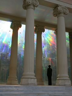 Rainbow Spectrums Mirrored Throughout Palacio de Cristal - My Modern Metropolis