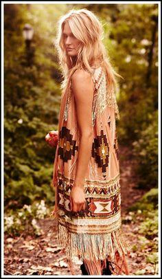 phong cách Hippie trong bộ sưu tập mùa xuân 2012