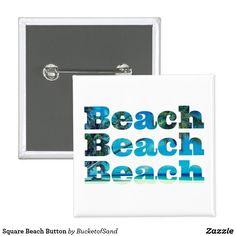 Square Beach Button