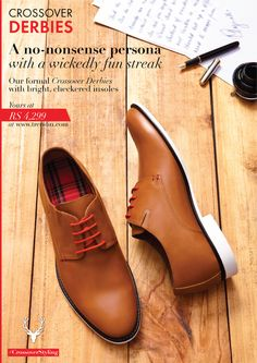 Our new collection of #CrossoverStyling #shoes are in stores now.