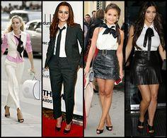 Meu estilo: Como usar gravata \/ How to wear a tie #femalefashion #meninspiredfashion