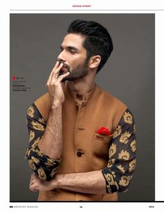 Shahid Kapoor para GQ Style India 2015 - Male Fashion Trends