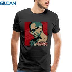 Custom T Shirts Online Gildan Premium O-Neck Linkin Park Chester Bennington Short-Sleeve T Shirts For Men #Affiliate