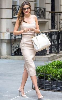 Miranda Kerr is once again a flawless fashionista on the streets of NYC!
