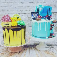 """Outstanding """"abstract art paintings tutorial"""" detail is available on our internet site. Read more and you wont be sorry you did. Pokemon Birthday Cake, Pokemon Party, Pokemon Cakes, Food Gallery, Drip Cakes, Cakes And More, Party Cakes, Cupcake Cakes, Cupcakes"""