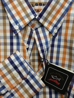Paul & Shark Yachting Italian Sport luxury Casual Shirt 46 ,2XL/56  NWT$275 #PaulShark #ButtonFrontBD