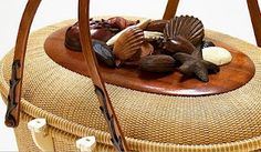 Beautiful Nantucket basket