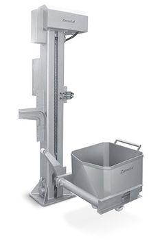 Elevador de Coluna, usado para elevação de carros de 200 Litros. Feito inteiramente em Aço Inox.