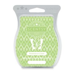 Scentsy Candle Wax Melts fill the room with Pistachio cream and coconut garnish vanilla meringue.    Click on the photo to order!