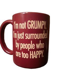 Disney Coffee Mug - Grumpy - I'm Not Grumpy