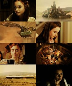 Lily Collins as Lily Evans Female Harry Potter, Harry Potter Fandom, Harry Potter World, Harry Potter Memes, Lily Collins, Marauders Cast, Clary And Sebastian, Hogwarts, Mary Mcdonald