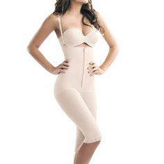 601a4b3c8c Zarbrina Womens Full Body Shaper Waist Cincher Thigh Slimmer Underbust  Corset Bodysuit Shapewear