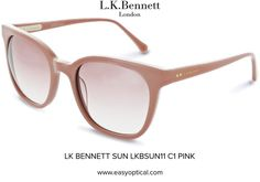 LK BENNETT SUN LKBSUN11 C1 PINK Lk Bennett, Bond Street, Eyewear, Feminine, Sun, London, Glasses, Luxury, Stylish
