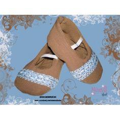 Zapato ANTONELLA, hecho a mano y para bebé