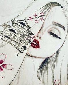 2nd Angles #art #artist #illustration #redlips #lips #draw #drawing #drawings #artwork #arts #instagood #inspiration #japanesecherryblossom #makeup #fashion #sketch #sketching #instaart #instaartist #love #happy #Godisgoodallthetime