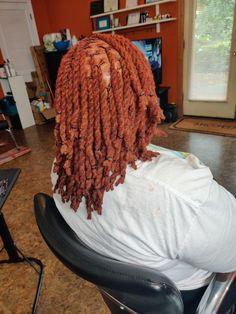 Dreadlock Styles, Locs Styles, Dreads Black Women, Dreads Styles For Women, Short Locs Hairstyles, Ginger Hair Color, Beautiful Dreadlocks, Hair Addiction, Dyed Hair