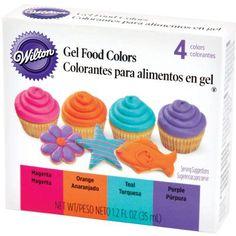 Wilton Neon Gel Food Color Set Wilton