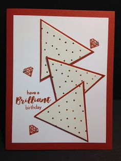 July 2016 Paper Pumpkin, Alternate Birthday Card, Stampin' Up!, Rubber Stamping…