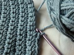 How to Crochet Your First Scarf