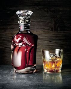 Rolling Stones whisky - love the bottle!