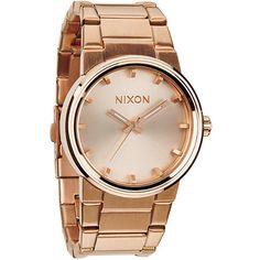 Nixon Cannon Rose Gold Analog Watch