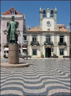 Beach town Cascais, Portugal