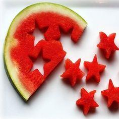 Frutas de postre para niños