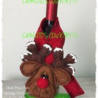 Christmas Crafts, Christmas Ornaments, Reno, Holiday Decor, Party, Ideas, Xmas, Christmas Napkins, Decorated Bottles